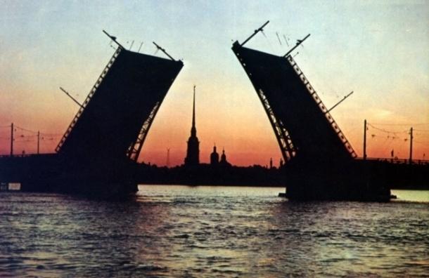 Развод мостов в Петербурге завершиться 30 ноября