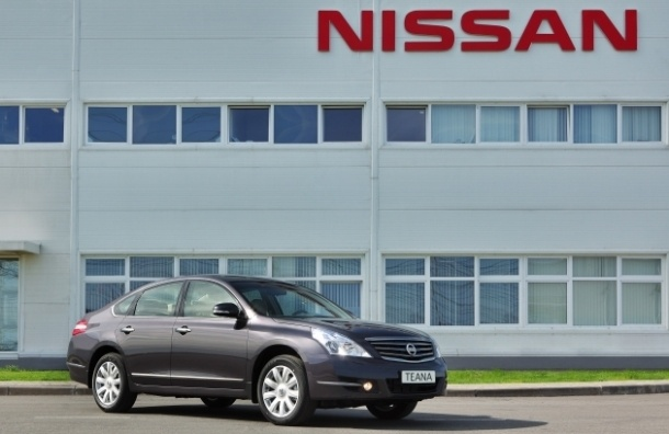 В Петербурге приставы арестовали имущество Nissan на 3,7 млрд рублей