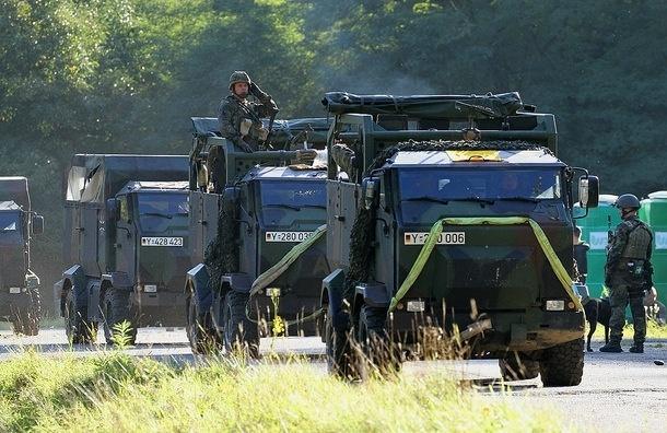 В Эстонии начались учения НАТО по защите от вторжения враждебного государства