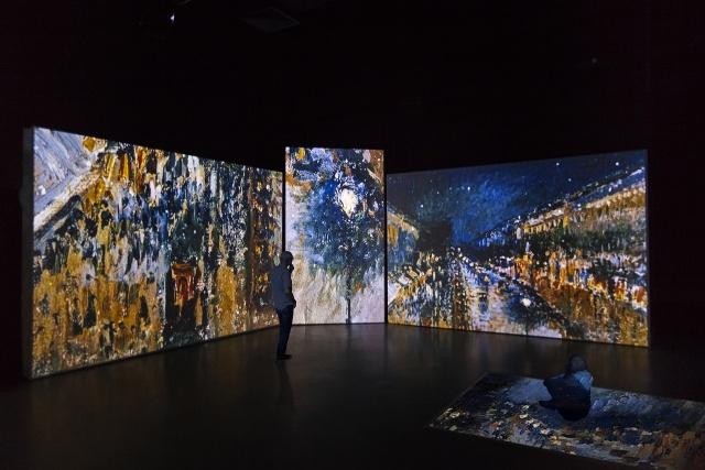 В Петербурге 20 ноября откроется мультимедийная выставка импрессионистов : Фото