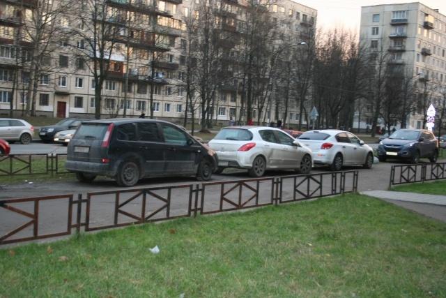 Газон на ул.Руднева , возле домов 22 корп.2 и д.24: Фото
