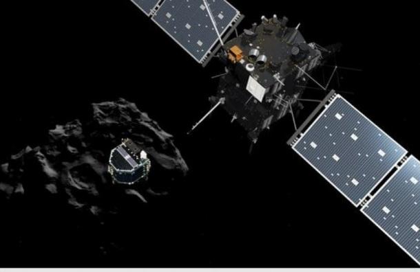 Rosetta начала спуск на комету лабораторного модуля Philae