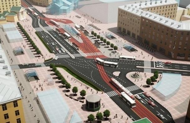 проект реконструкции Сенной площади движения