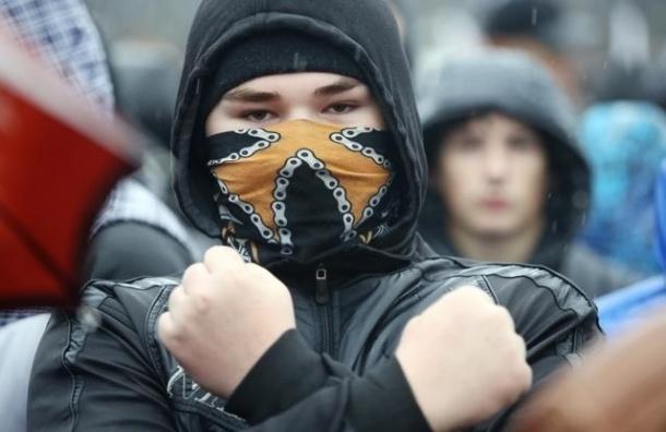В центре Петербурга националисты митинговали «за славянское единство»