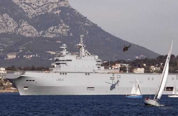 С российского «Мистраля» во Франции похищено оборудование