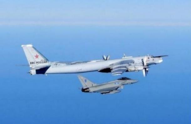 Великобритания подняла истребители для перехвата российских бомбардировщиков