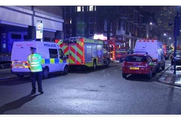 При взрыве в пятизвездочном отеле в Лондоне пострадали 14 человек