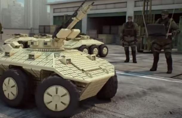 Боевые роботы примут участие в параде Победы