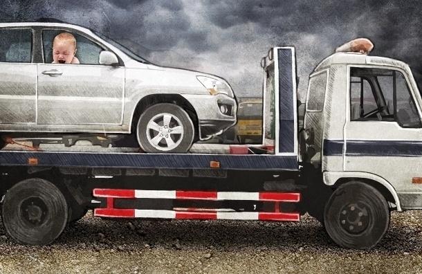 ГИБДД не накажет инспектора, эвакуировавшего машину с ребенком