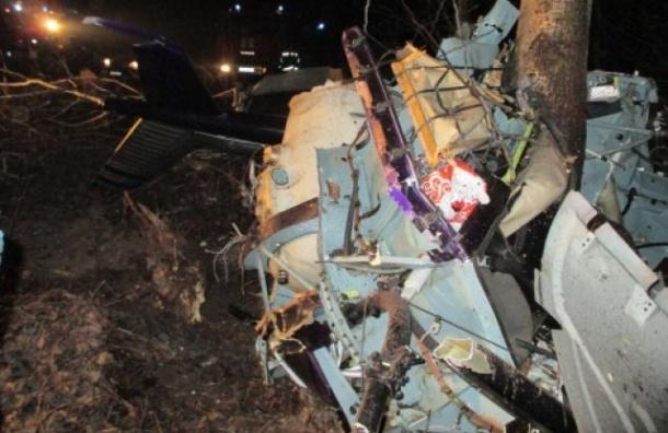 Пять человек погибли при крушении вертолета в Нижегородской области