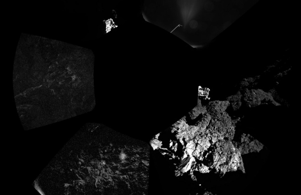 Робот Philae обнаружил на комете органические молекулы