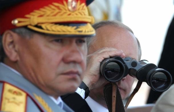 Шойгу попросил Путина отправить губернаторов на военные сборы