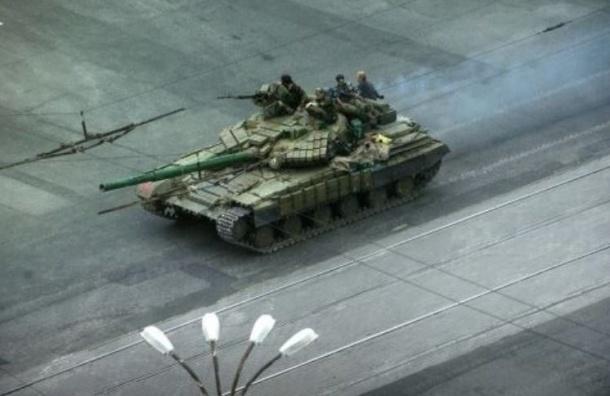 ОБСЕ сообщило о неопознанной военной колонне под Донецком