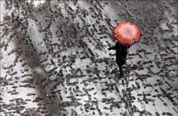 Петербург ожидает теплый и снежный декабрь