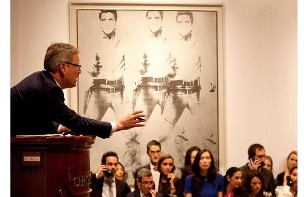 Две картины Уорхола проданы на аукционе за $151 млн