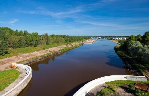 На Волго-Балтийском водном пути на зиму закрывается навигация