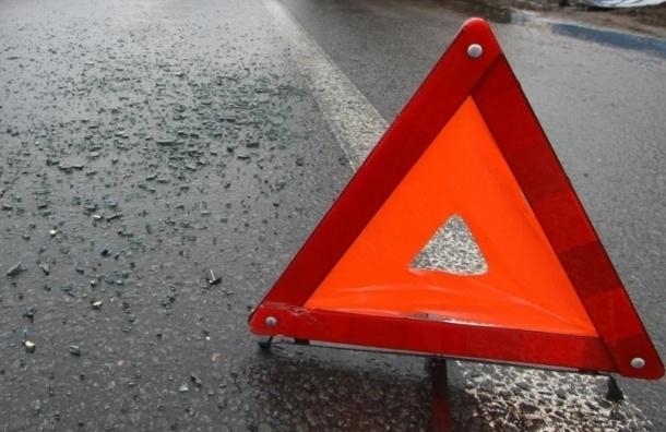 Пятилетний ребенок пострадал в ДТП на съезде с КАД на Таллинское шоссе