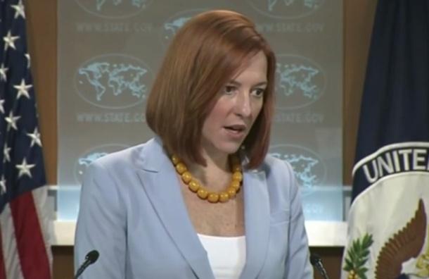 Джен Псаки заявила, что США осуждают обстрел школы в Донецке