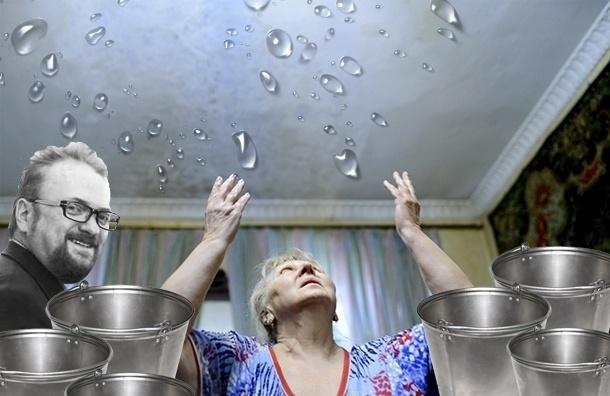 Жену Милонова признали виновной в затоплении квартиры соседей
