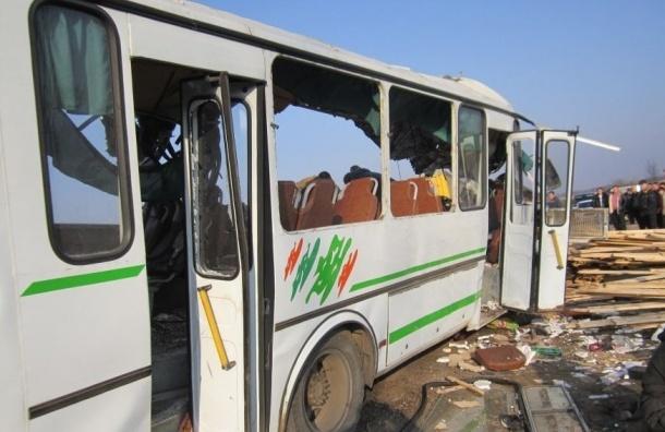 В ДТП с автобусом под Нижним Новгородом погибли шесть человек