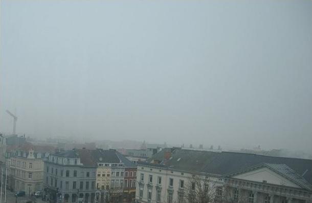Смог в Петербурге вызван температурной инверсией