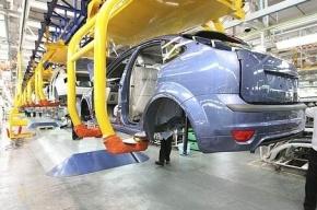 Автопром Петербурга упал на 23%