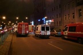 При пожаре в Аграрном университете эвакуировали 80 человек