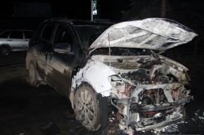 В Петербурге за ночь сгорели три автомобиля
