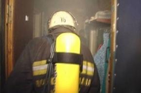 В жилом доме на проспекте Энгельса утром тушили пожар