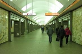 На станции «Улица Дыбенко» умер пенсионер
