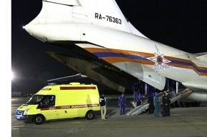 Спецбортом из Крыма Санкт-Петербург доставлен для лечения тяжелобольной младенец