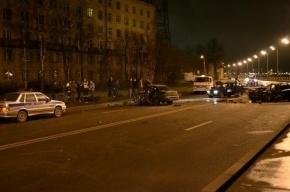 На проспекте Народного Ополчения в массовом ДТП разбились 4 автомобиля