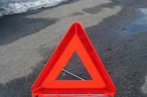 На Ждановской набережной произошло тройное ДТП