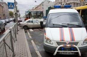 В ДТП на Лиговском попали три автомобиля