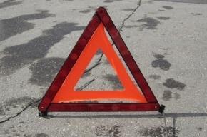 «Скорая помощь» попала в ДТП на Васильевском острове