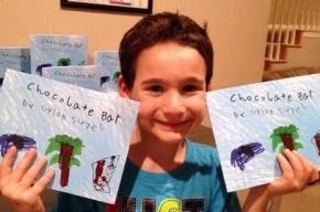 Мальчик собрал 1 млн долларов на лечение друга, написав книгу