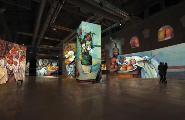 В Петербурге 20 ноября откроется мультимедийная выставка импрессионистов