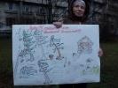 Фоторепортаж: «Пикет за сквер Агрофизического института»