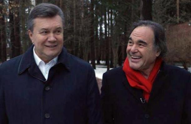 Оливер Стоун собирается снять фильм о Януковиче и рассказать правду о Майдане