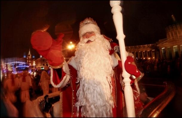 Дед Мороз по Невскому не пройдет