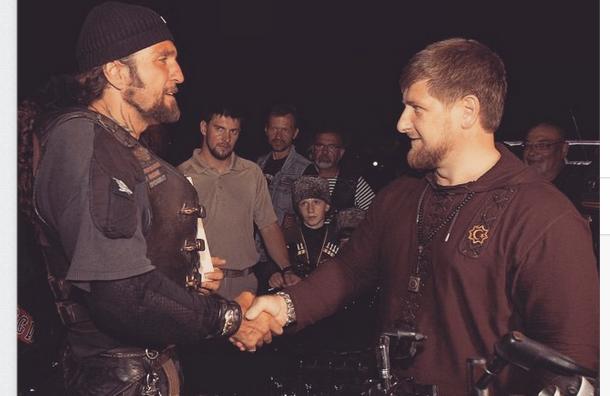 Рамзан Кадыров поздравил байкера «Хирурга» с попаданием в санкционный список