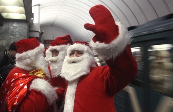 В Петербурге установили особый режим работы метрополитена в новогоднюю ночь