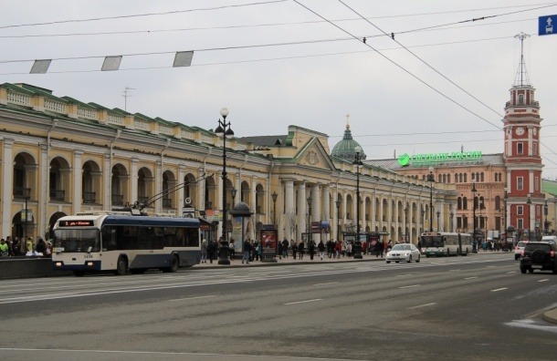 Утверждена концепция реконструкции Большого Гостиного двора.