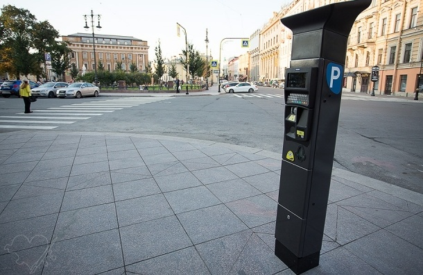 Час парковки в центре Петербурга обойдется в 60 рублей