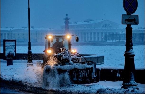 Снегопад снова накроет Петербург