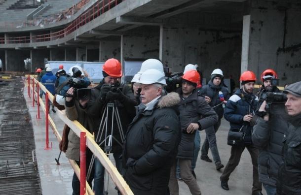 Полтавченко: стоимость строительства «Зенит-Арены» не изменится из-за колебаний курса рубля