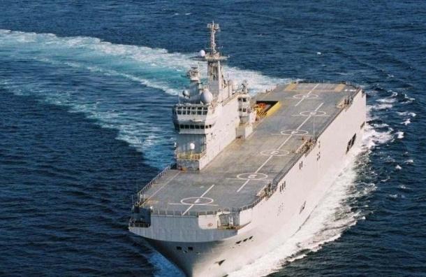 400 моряков, проходивших обучение на «Мистрале», вернулись в Кронштадт