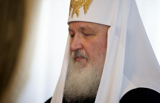 Патриарх Кирилл освятил храм Сергия Радонежского в Пушкине