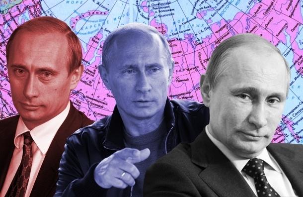 Эволюция Путина: западник, мачо и спаситель нации