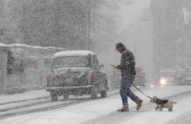 МЧС предупреждает о сильном снеге 25 декабря